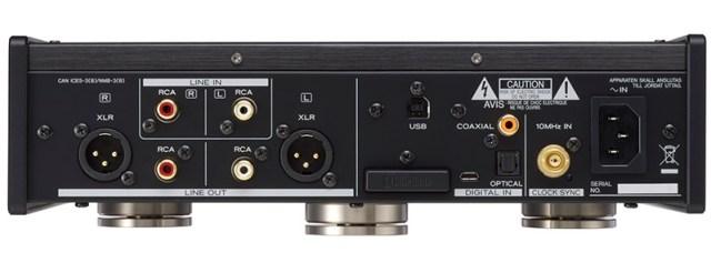 Teac UD-505 Anschlüsse am Headphone-Amp