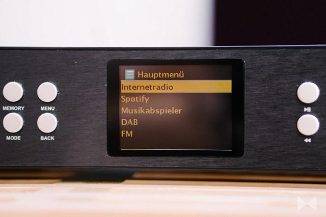 auna iTuner 320 Spotify Musikdienst mit UPnP und Internetradio