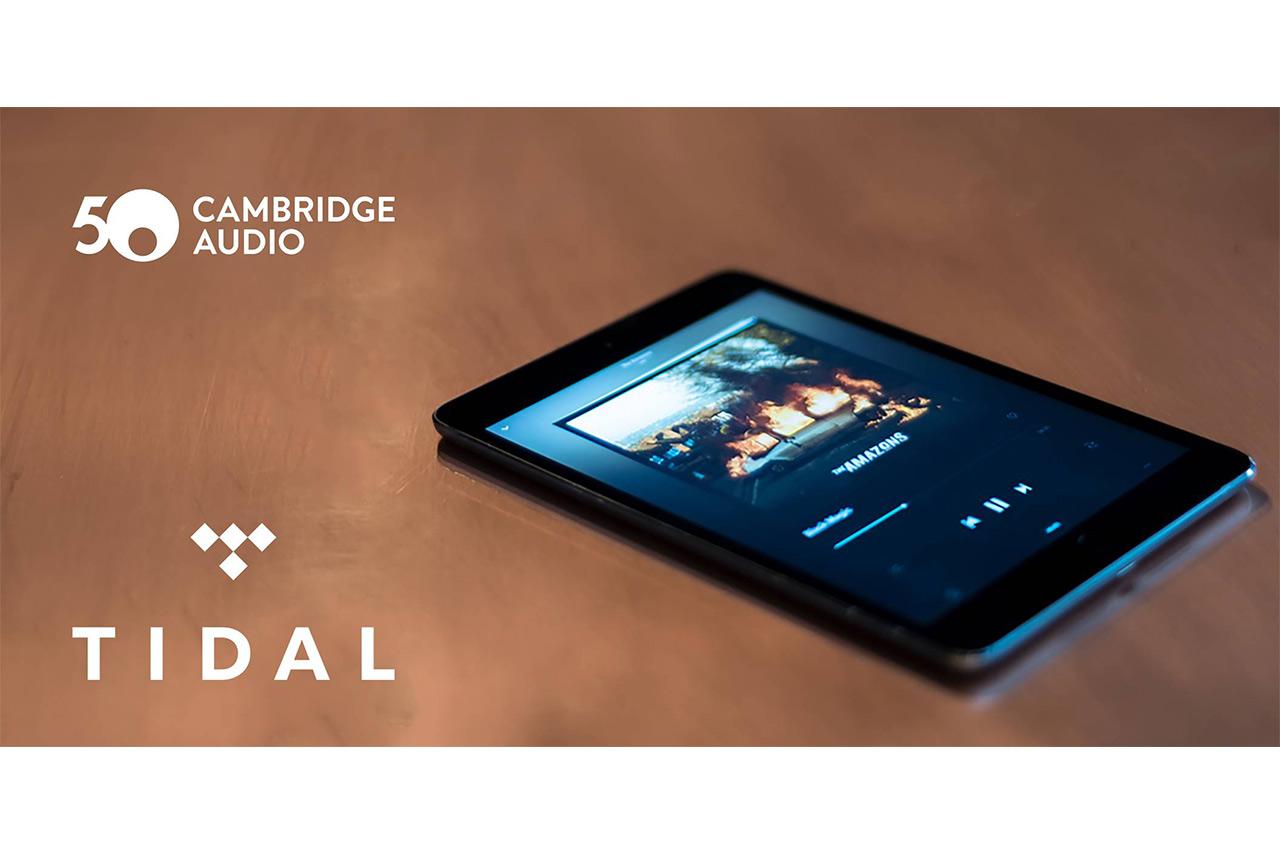 Cambridge Audio integriert den Musikstreamingdienst Tidal