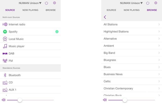 Setup, Spotify und Undok-App