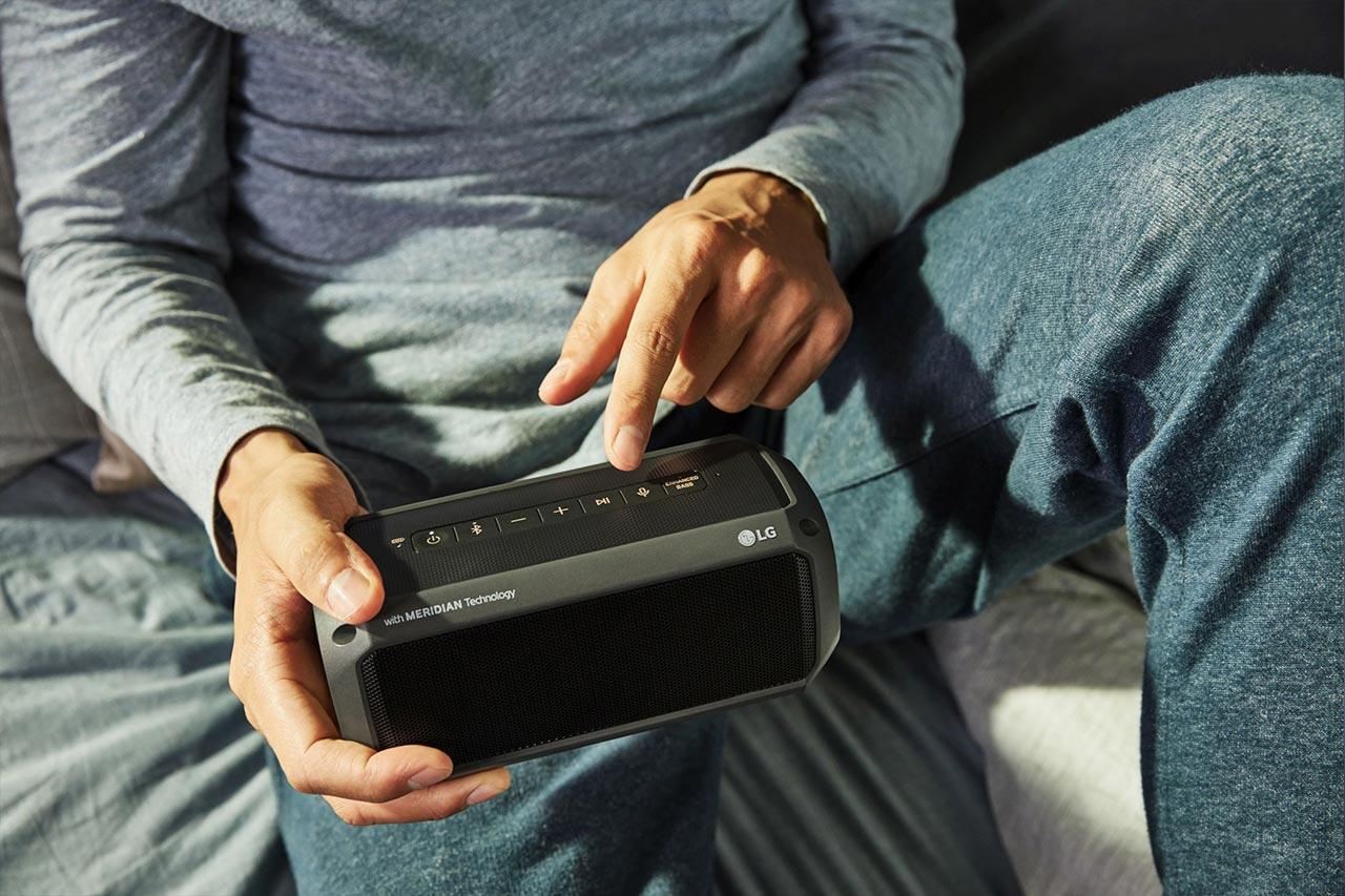 LG PK7, PK5 und PK3: Bluetooth-Lautsprecher mit Meridian Audio