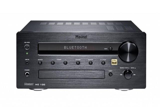 Magnat MC 100 Stereo-Verstärker mit Bluetooth Front