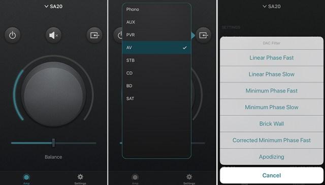 Arcam Control App