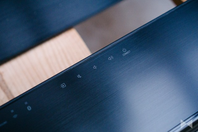 Yamaha MusicCast Bar 400 Touchpanel