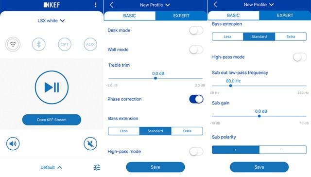 KEF Control App LSX Stream