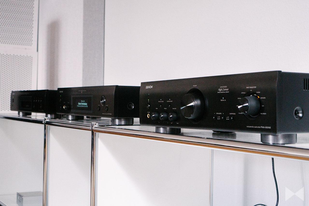 Denon PMA-800NE / DNP-800NE / DCD-800NE Test