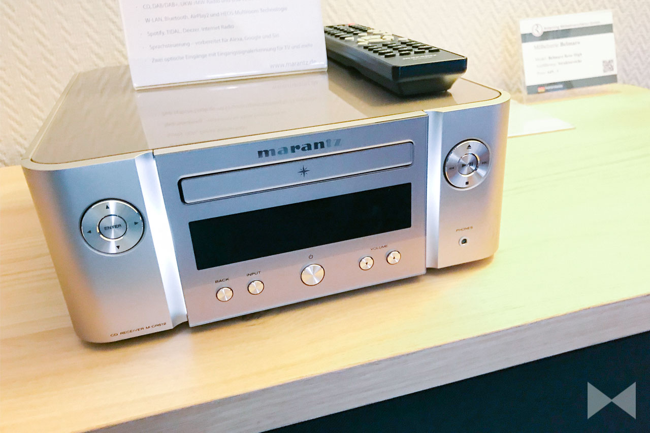 Marantz M-CR612 / Melody X: HiFi-Receiver mit AirPlay 2, Bluetooth und Heos