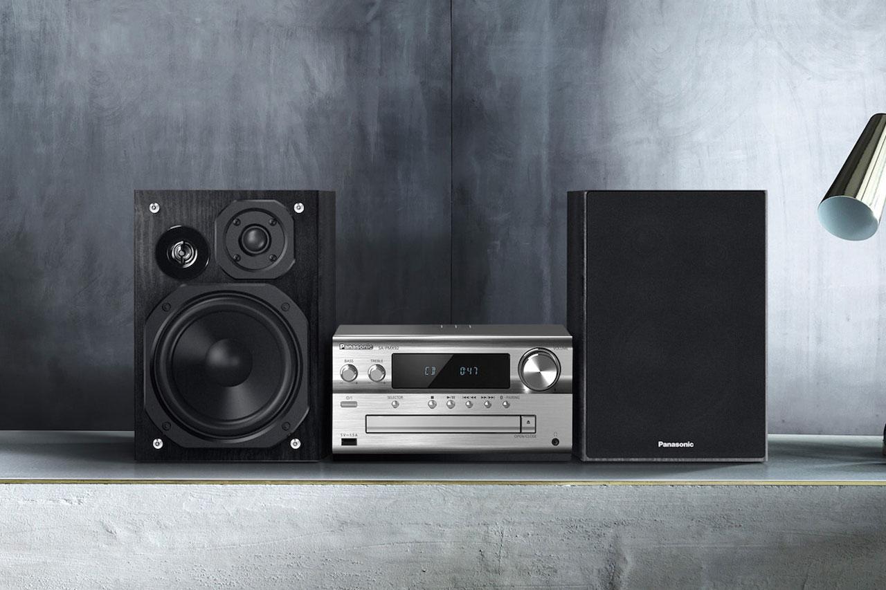Panasonic SC-PMX94: Kompaktanlage mit Bluetooth und CD-Player