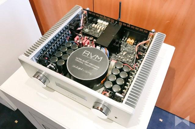 AVM A 6.3 und AVM A 8.3 Stereo-Vollverstärker