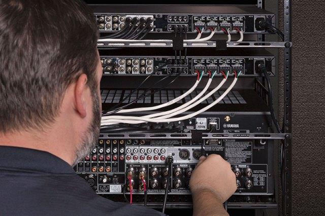 Yamaha XDA-QS5400RK: Multiroom-System-Rack