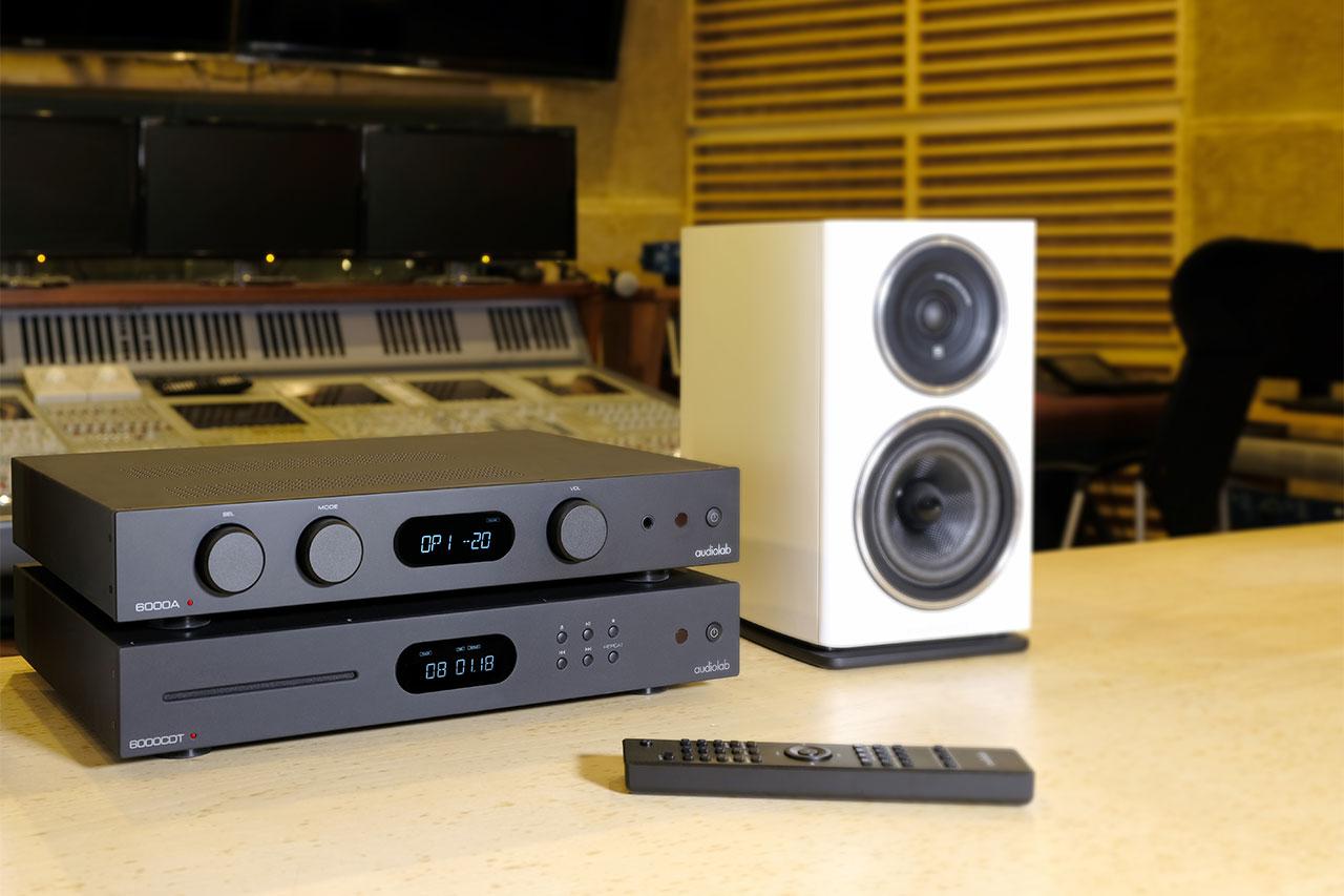 Audiolab 6000A / 6000CDT / 6000N: Verstärker, Streamer, CD-Player