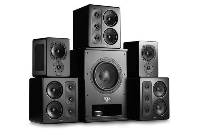 M&K Sound S300 Lautsprecher mit X12 Subwoofer