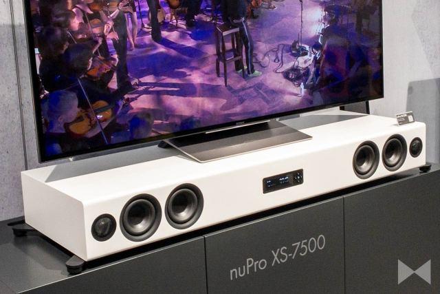 Nubert nuPro XS-7500: HDMI-Soundboard mit Bluetooth und Doppelbass auf der High End 2019
