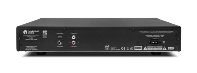 Cambridge Audio AXC35 CD-Player Anschlüsse