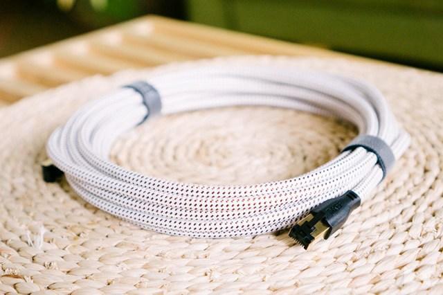 KEF K-stream Test Ethernet LAN Kabel