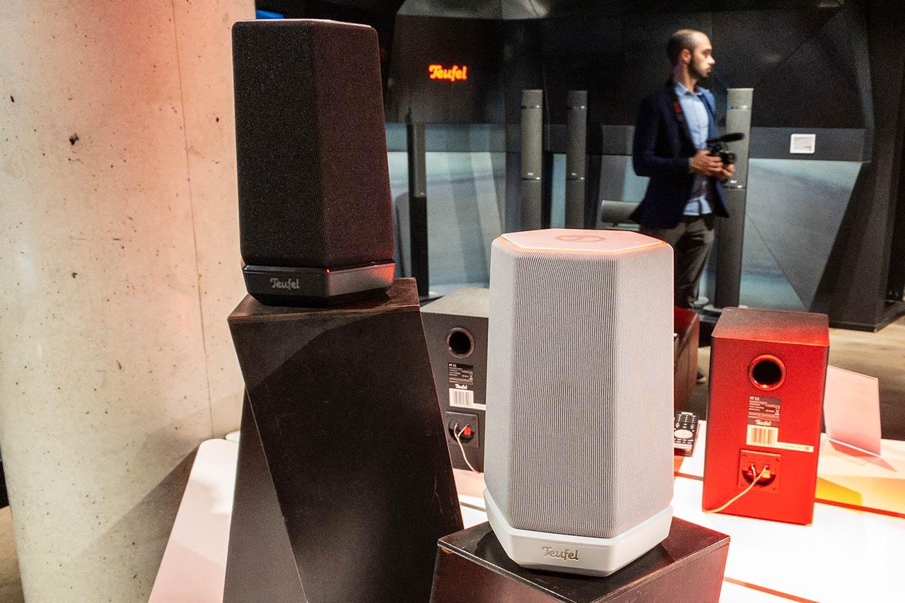 Teufel Holist M / Holist S: Alexa-Speaker mit WLAN und Bluetooth