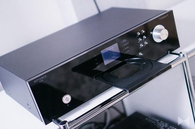 Advance Paris X-Stream 9 Testbericht der Netzwerk-Audioplayers