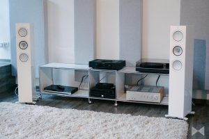 KEF R5 Test Standlautsprecher-Referenz