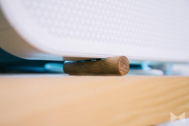 Dali Katch One Füße Holzstäbe