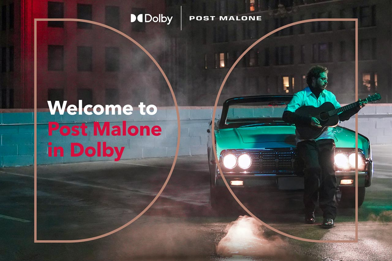 Dolby Atmos Music: 3D-Tonformat für Tidal und Co. Post Malone