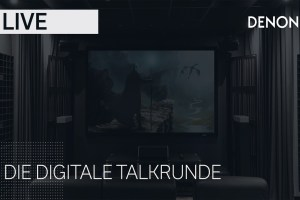 DENON LIVE: digitale Talkrunde zu Streaming, Multiroom, Heimkino