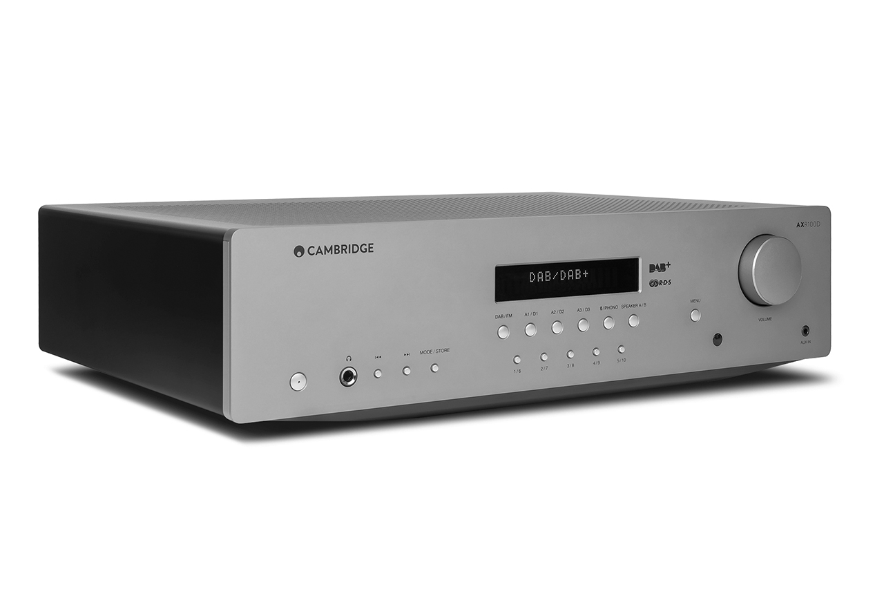Cambridge Audio AXR100D: Stereo-Receiver mit Bluetooth und DAB+