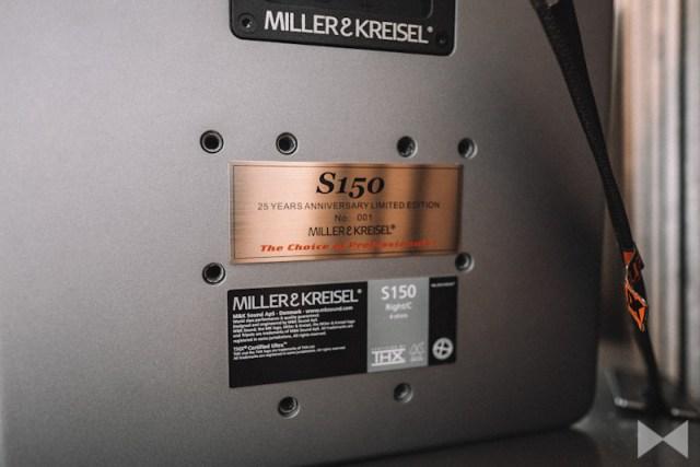 """M&K S150 """"25th Anniversary Limited Edition"""" in limitierter Auflage mit eigener Seriennummer"""