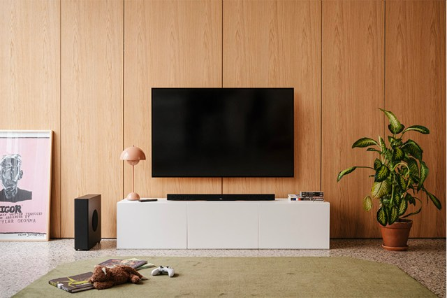 Teufel Cinebar 11 2021 Soundbar in Schwarz