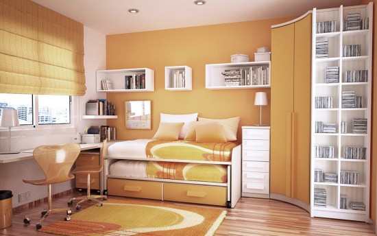 Space Saving For Small Kids Room Layout Modernholic