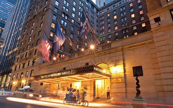 InterContinental The Barclay Hotel New York Home
