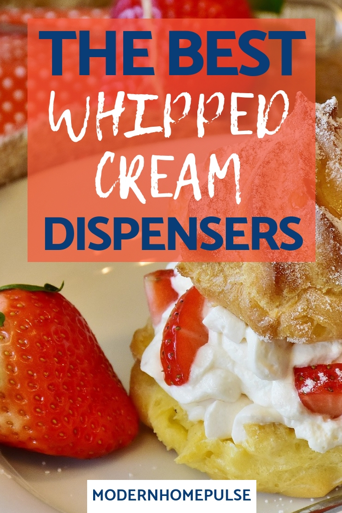 whipped cream dispensers