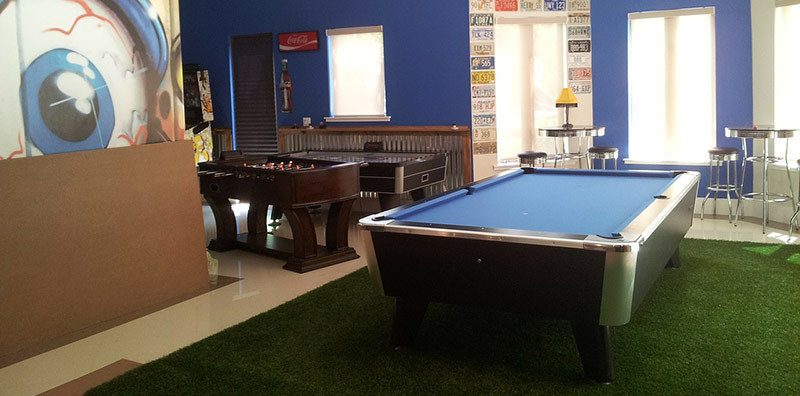 Build Your Dream Home Game Room For Parties