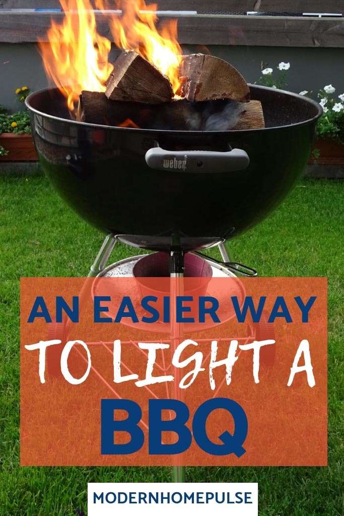 An easier way to light a BBQ