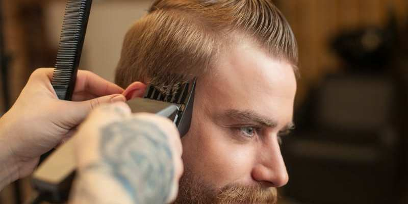 Trim His Hair With Barber Quality Hair Clippers for Home Use