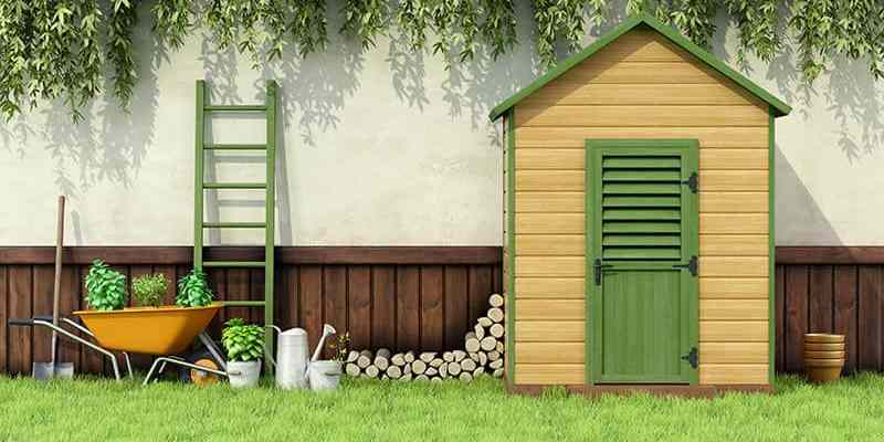 Overwhelmed With Yard Tools? Add A Garden Shed For Extra Outdoor Storage