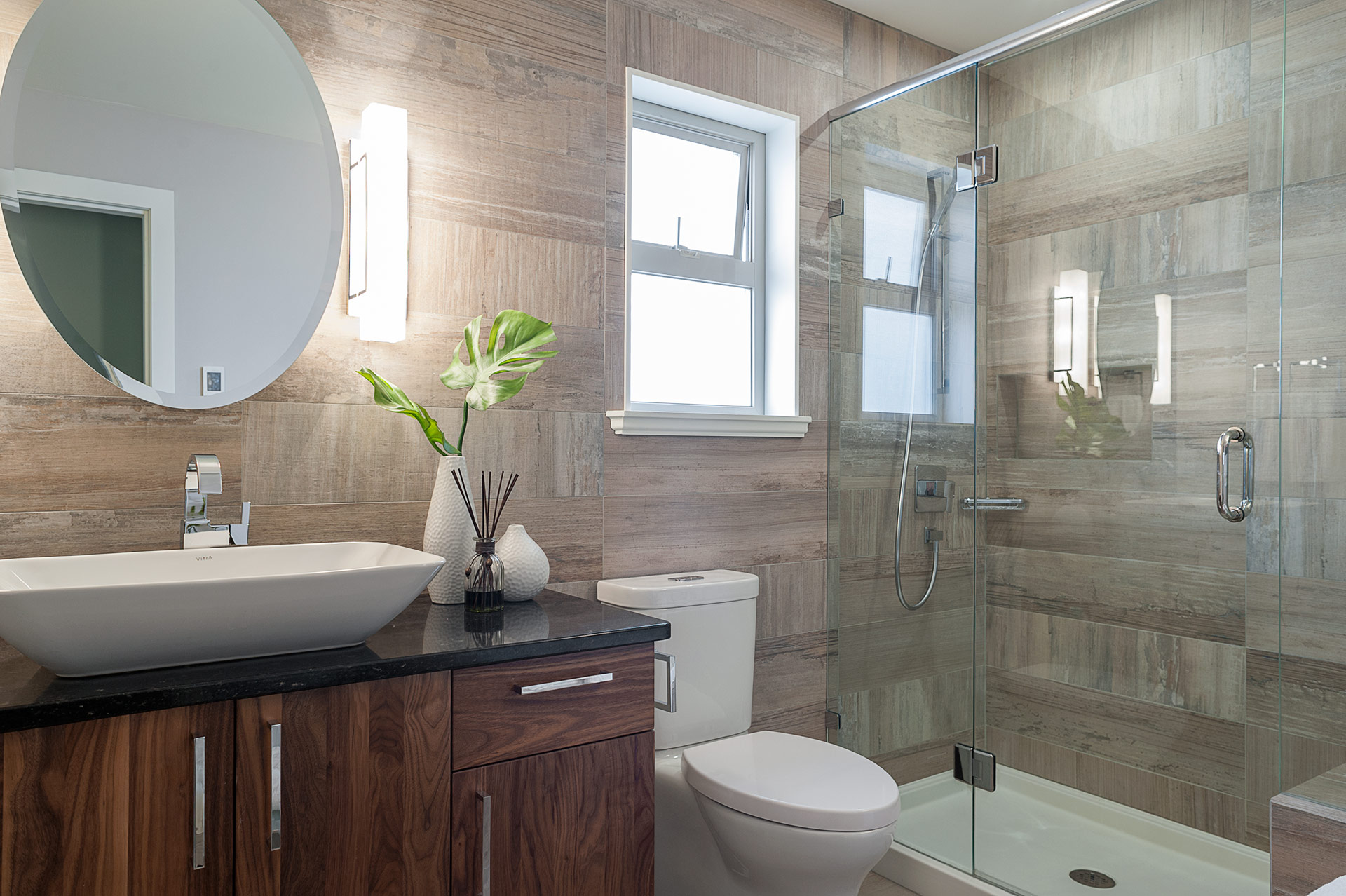Small Bathroom Renovation Loaded With Style | Modern Home ... on Small Bathroom Renovations  id=12060