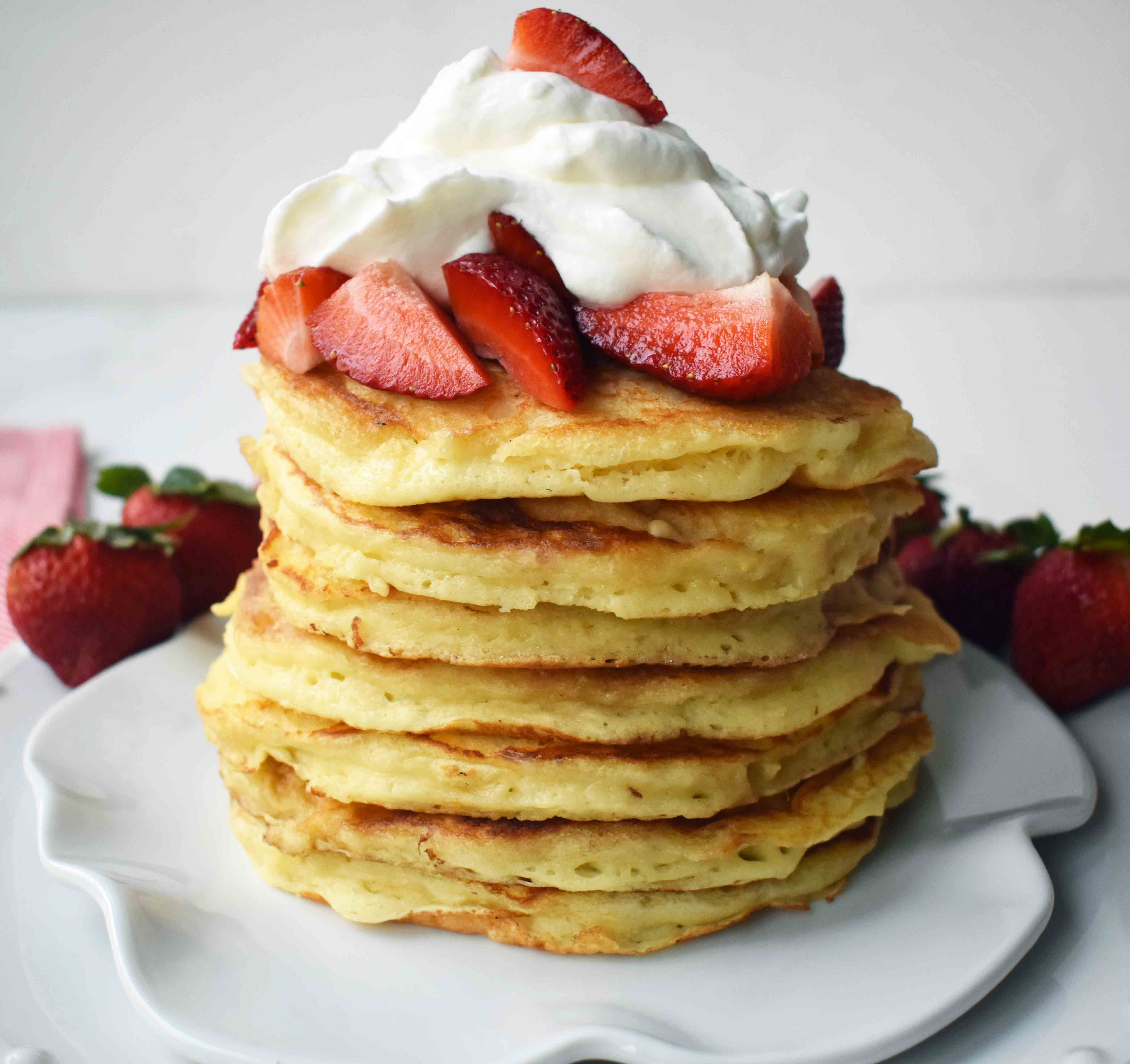 Goldie's Buttermilk Pancakes. 5 Ways to Make Valentine's Special for Kids