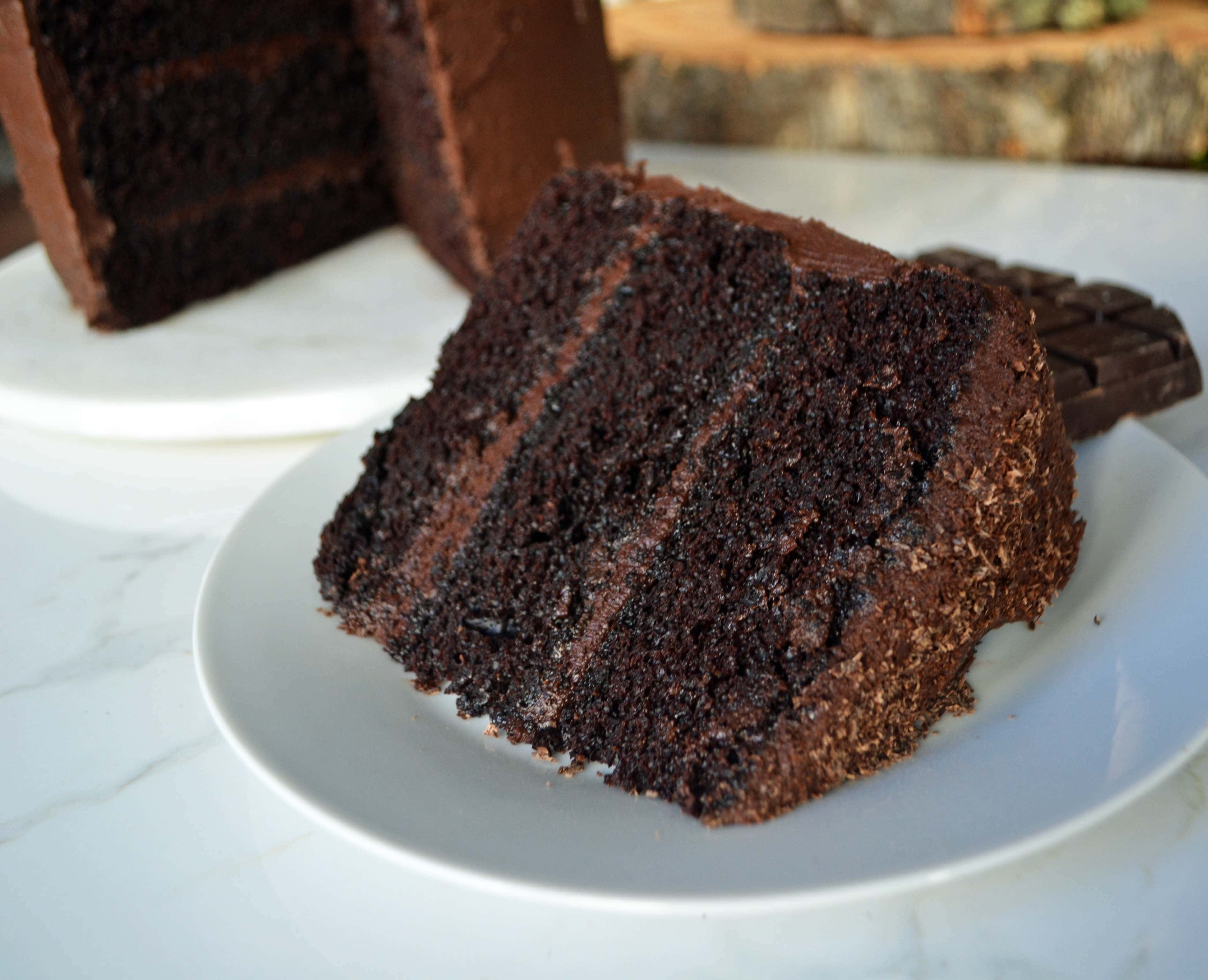 Love at First Sight Chocolate Cake | Modern Honey