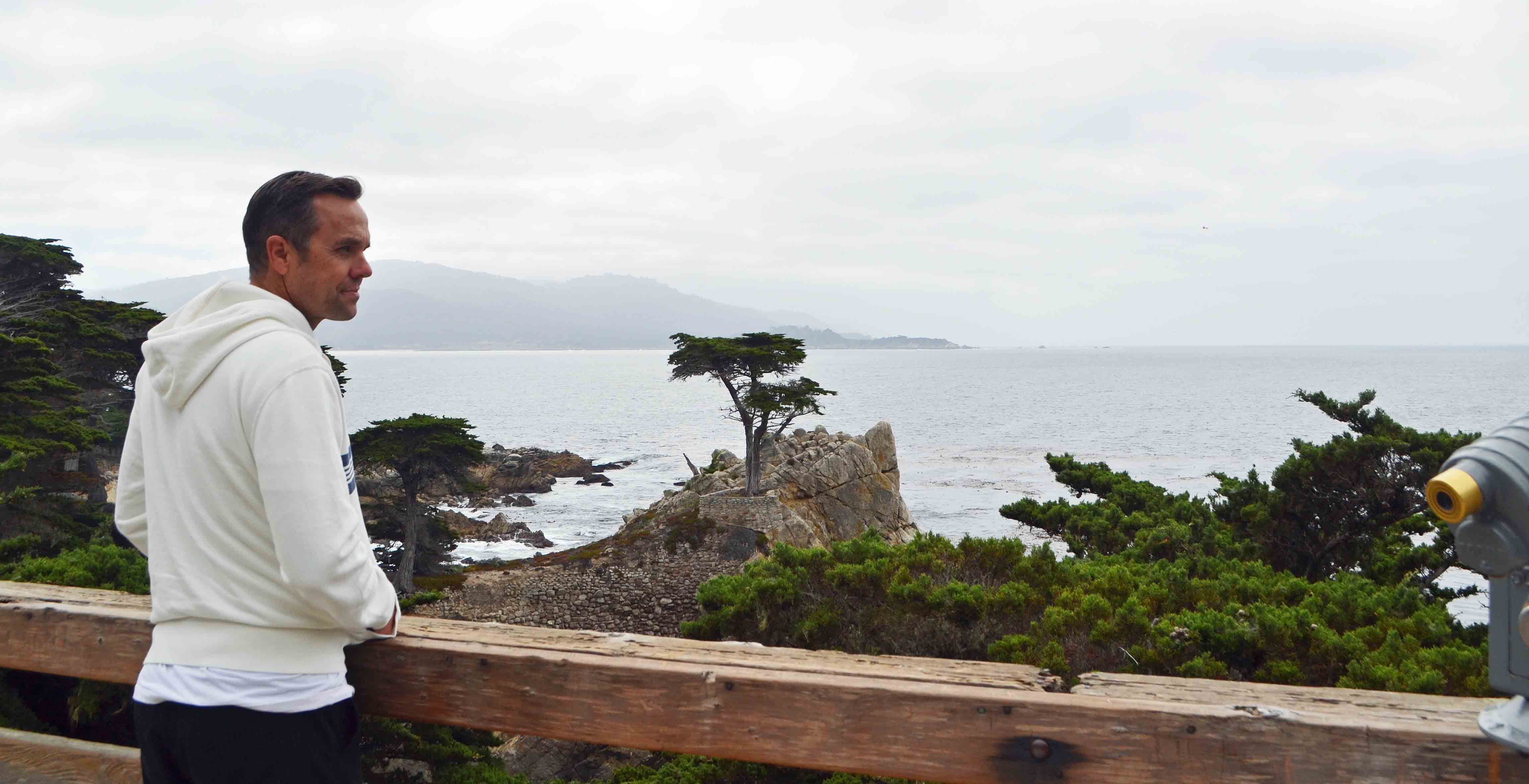 Lone Cypress Tree - 17 Mile Drive near Pebble Beach Golf Course