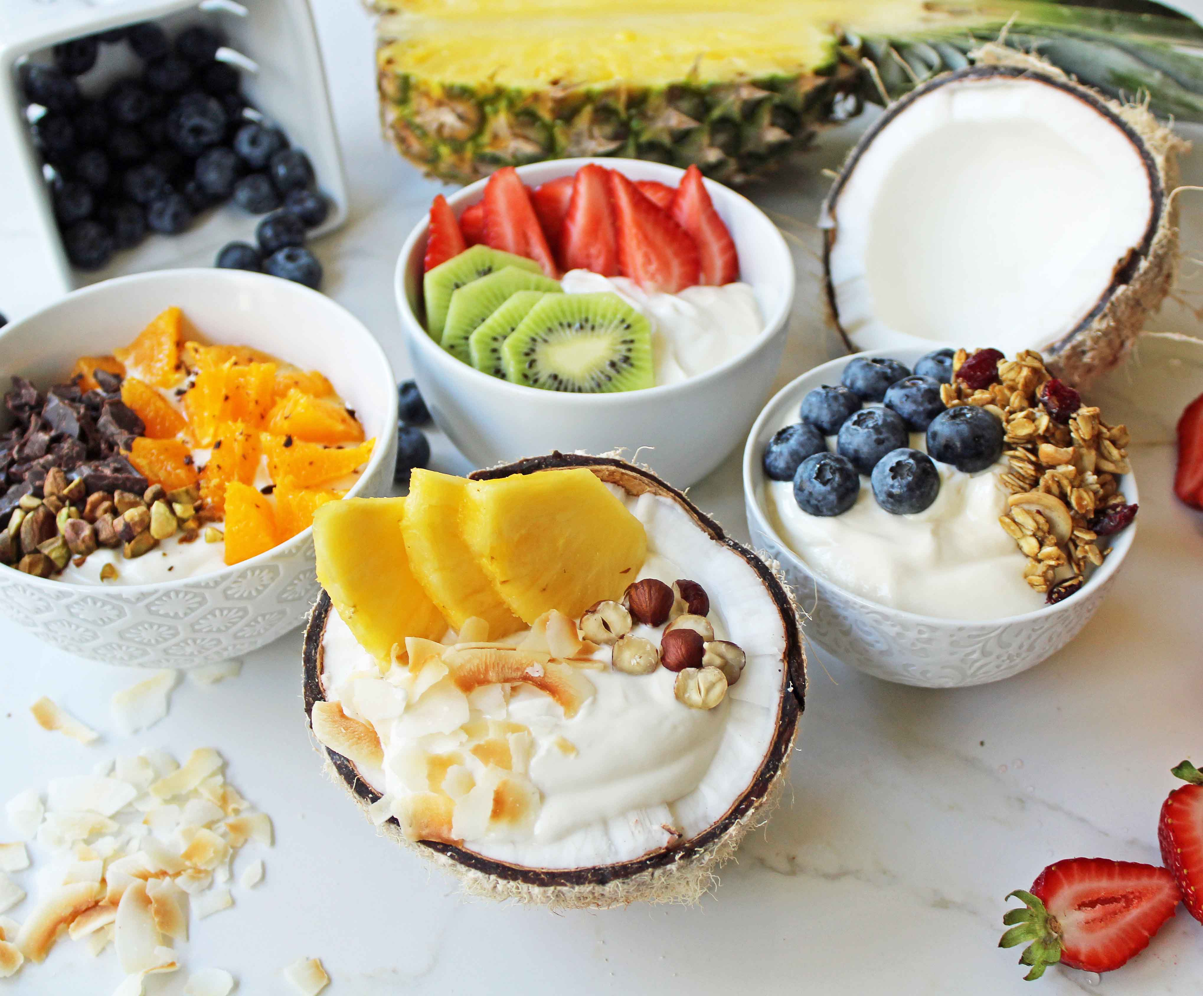 is yogurt and fruit a healthy breakfast are fruit yogurts healthy