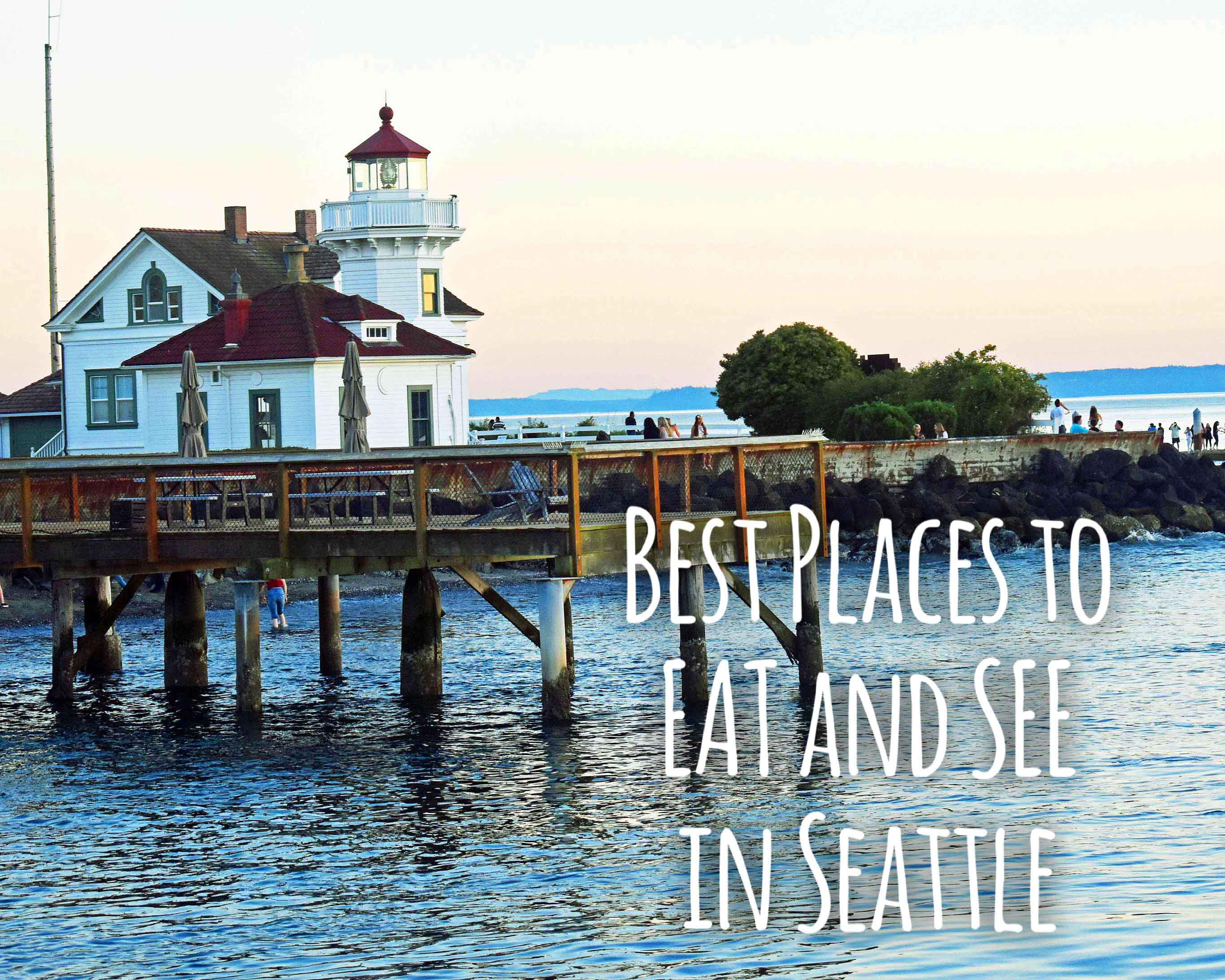 Best Places to Eat and See in Seattle. The most popular spots to visit and the best restaurants. Tips on the best places to see in Seattle Washington. www.modernhoney.com