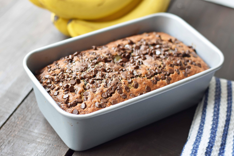 Chocolate Chip Banana Bread | Modern Honey