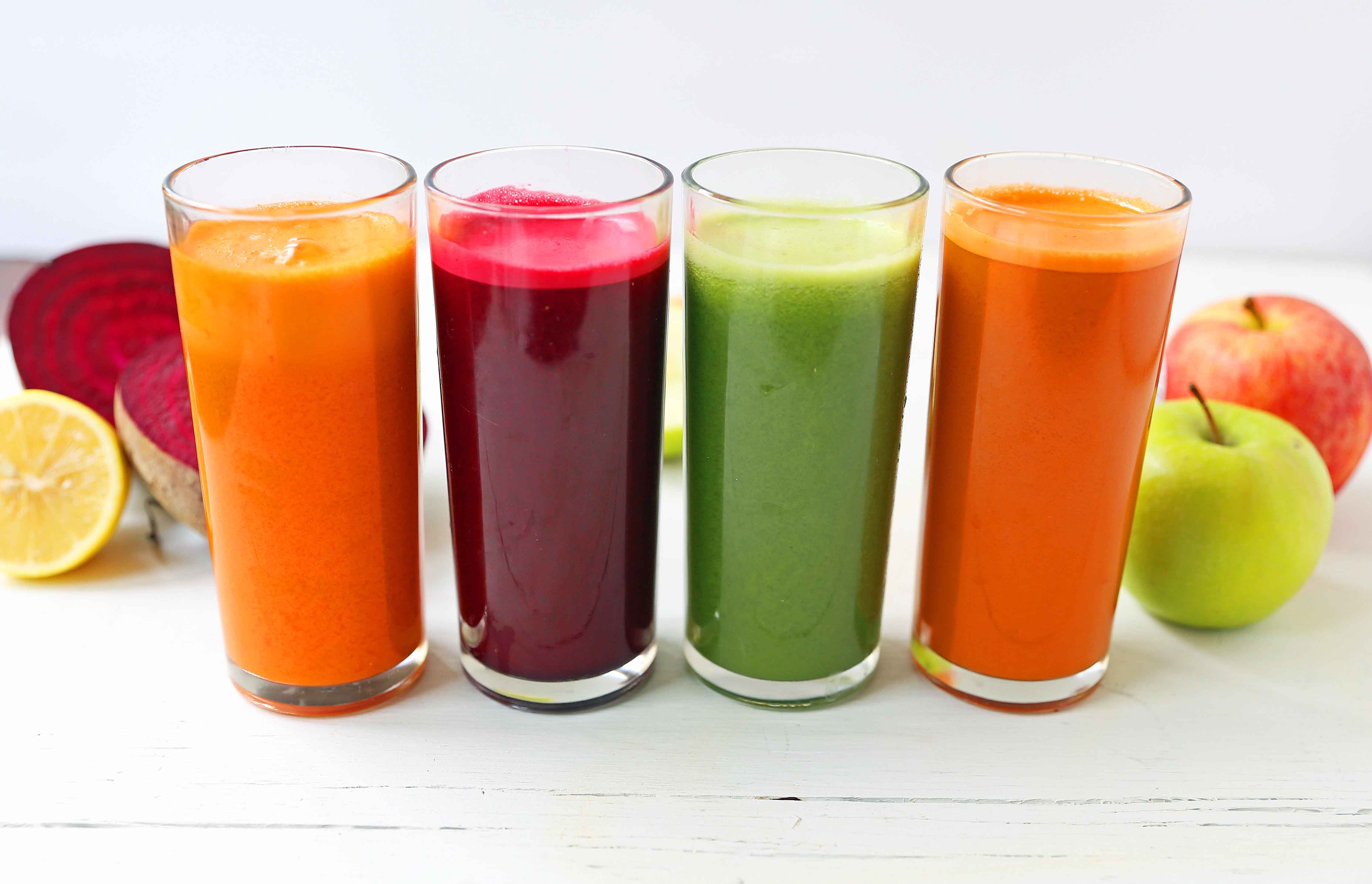 Healthy Juice Cleanse Recipes 1 - Best Fruits Combinations for Juice Diets