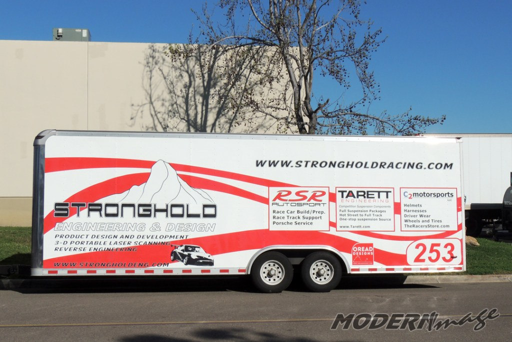 Commercial Vehicle Graphics Modern Image - Modern vehicle decals for business