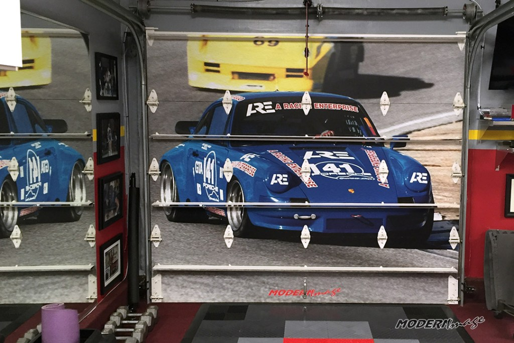 Modern Image Garage Door Wrap08 Modern Image