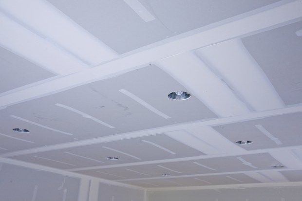 skimcoat ceiling