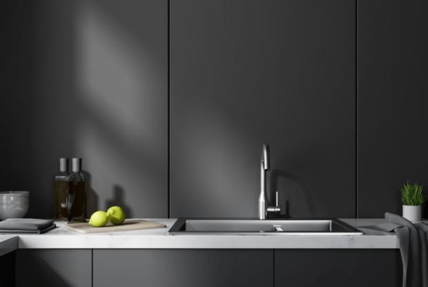 Matte Black Kitchen Cabinets Custom Ready To Assemble Matte Black Kitchen Cabinets Modern Kitchen Pros