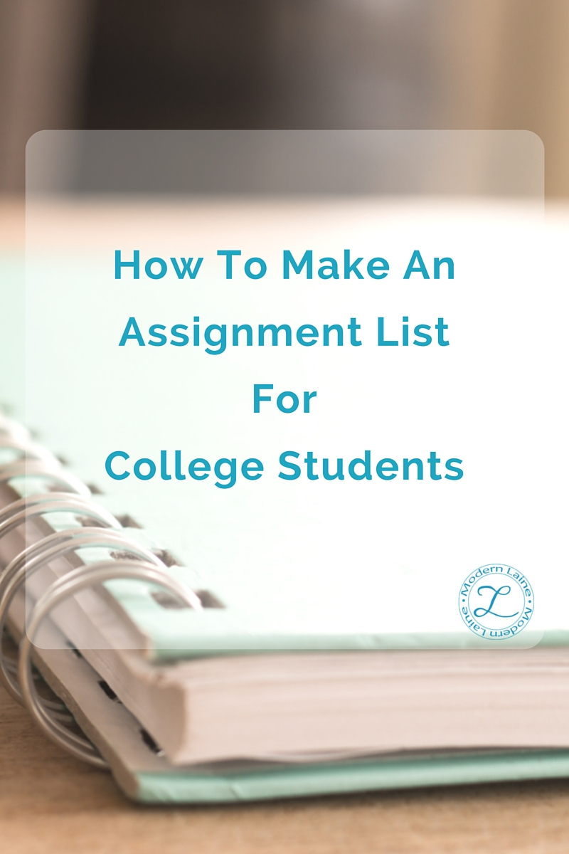 how to assignment