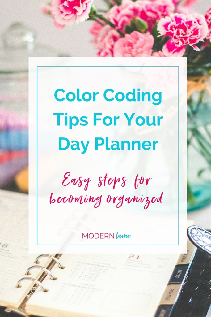 Color Coding_Day Planner_Modern Laine