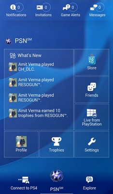 PS4 -The App